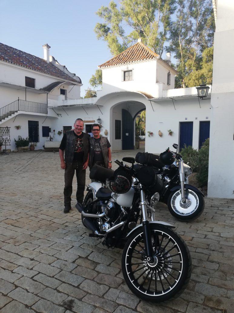 Ruta en moto. Cortijo El Esparragal